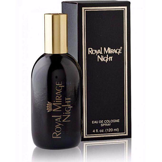 "Royal Mirage : Classic – ""NIGHT"" Eau de Cologne Spray 120 ml (Emirates Manufacture)"