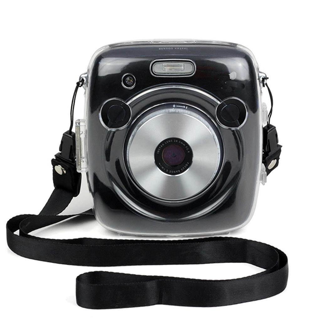 Miracle Shining Clear Crystal Case For Fujifilm Square SQ10 Camera with Shoulder Strap - intl