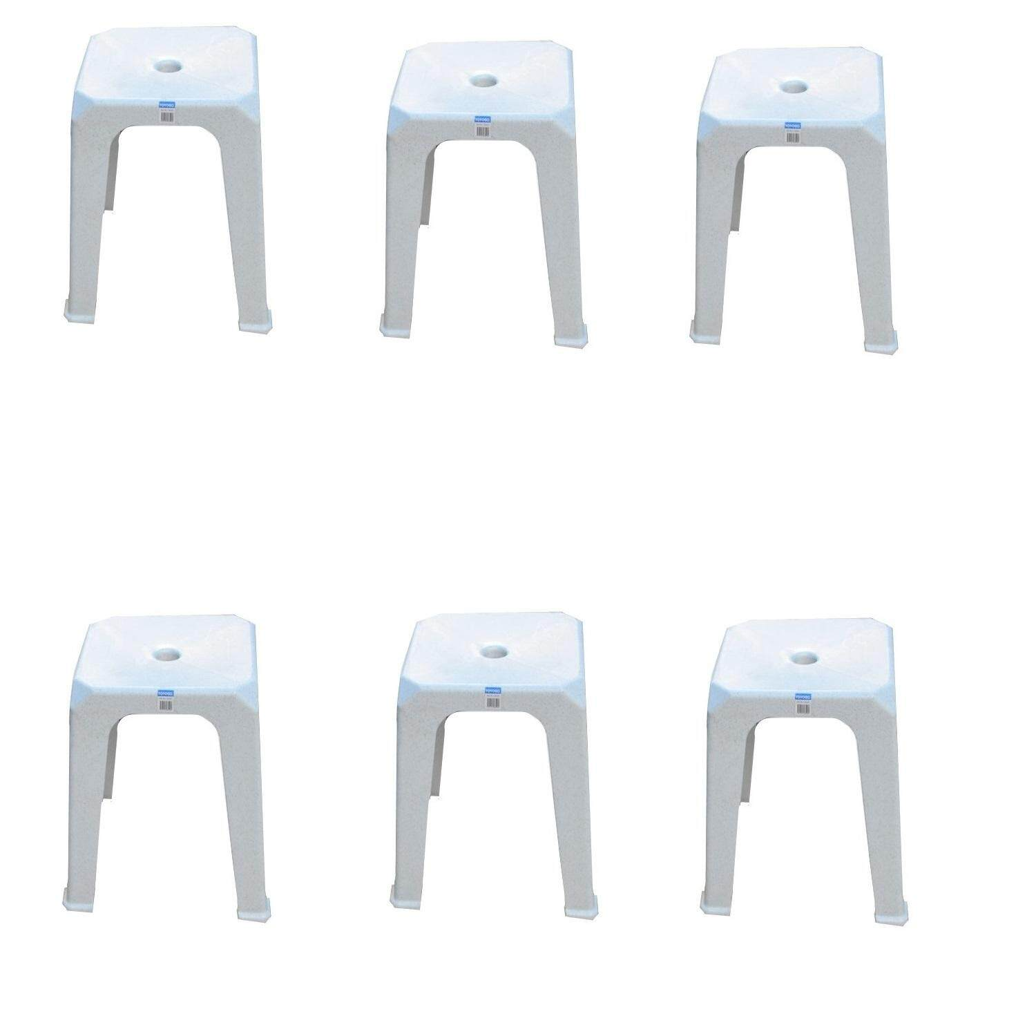 (OW) Toyogo Square Stool set of 6