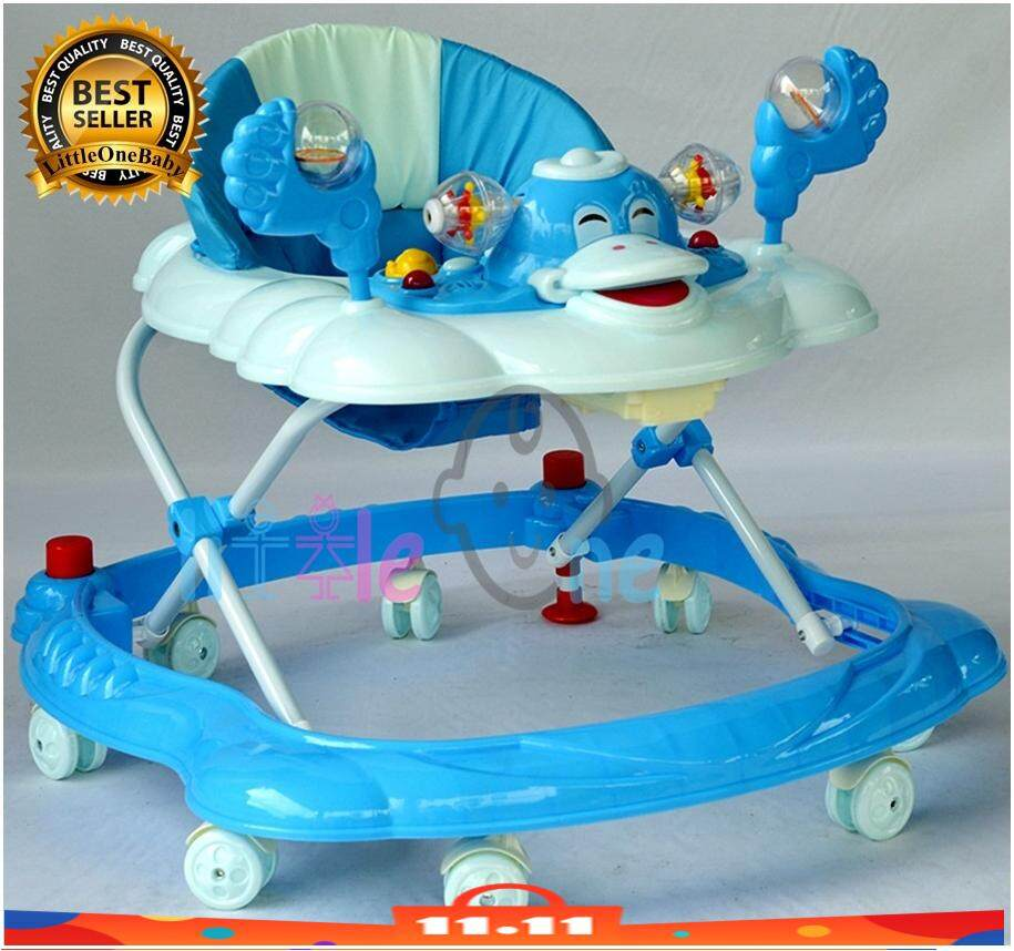 Walker Baby Model Itik Comes with Stopper and English Music! BIRU