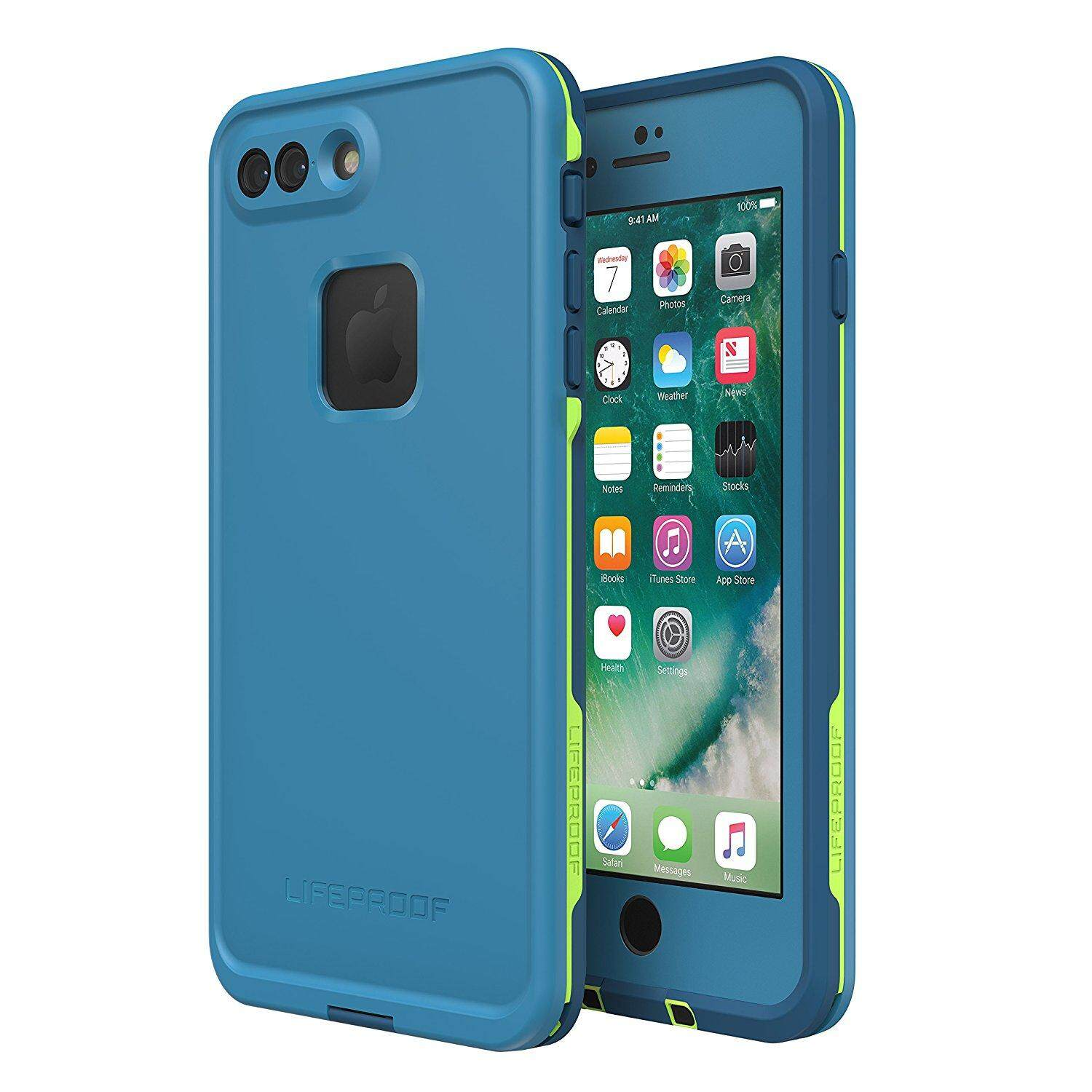 competitive price e7a40 cc68f Original LifeProof FRE Series Protective Case compatible with Apple iPhone  8 Plus & 7 Plus
