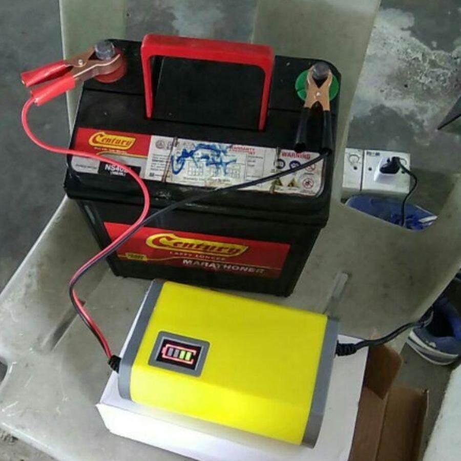 Charger 12v 6a Pengecas Bateri Kereta