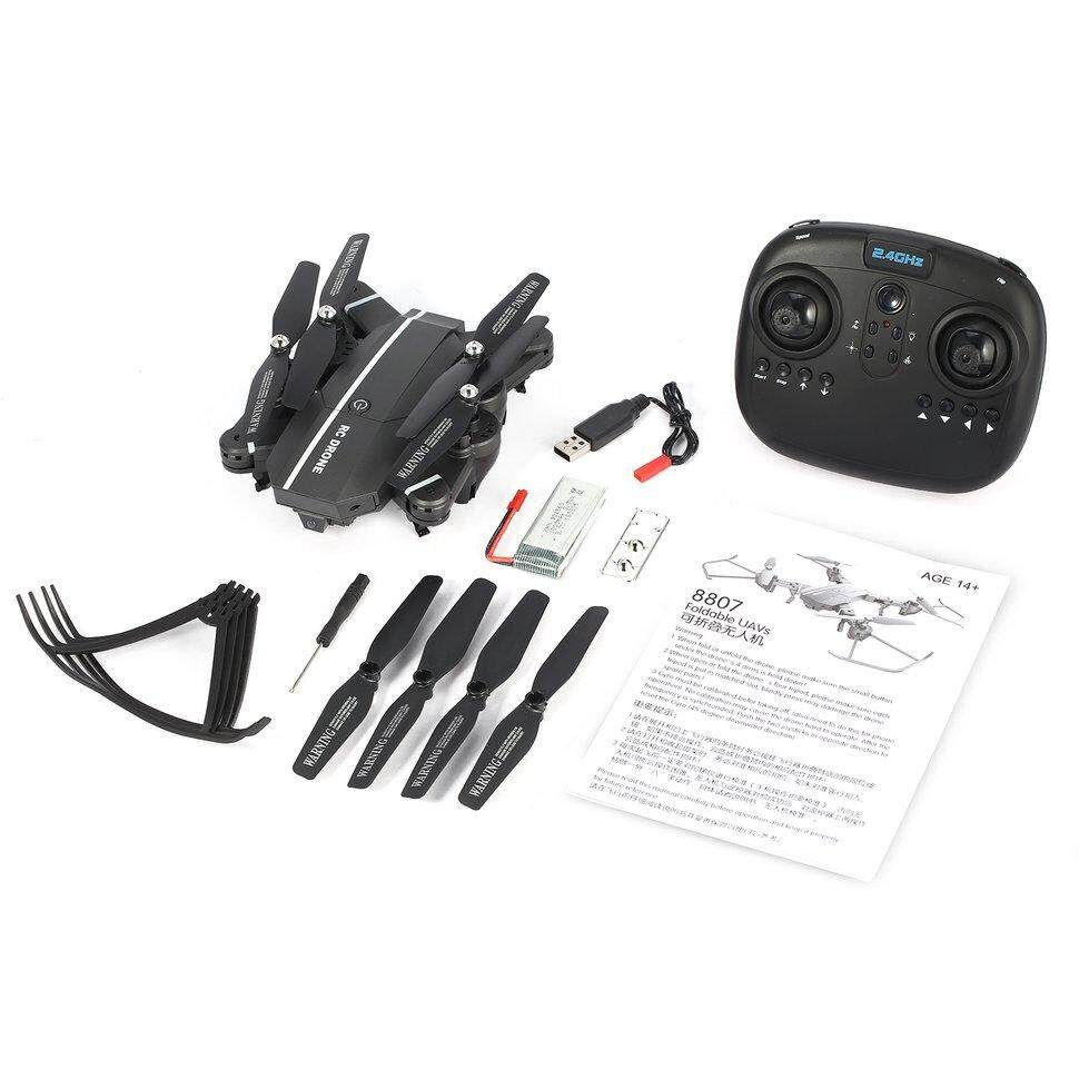 New 8807 2.4G Foldable RC Quadcopter with Altitude Hold Headless Mode 360° Flip