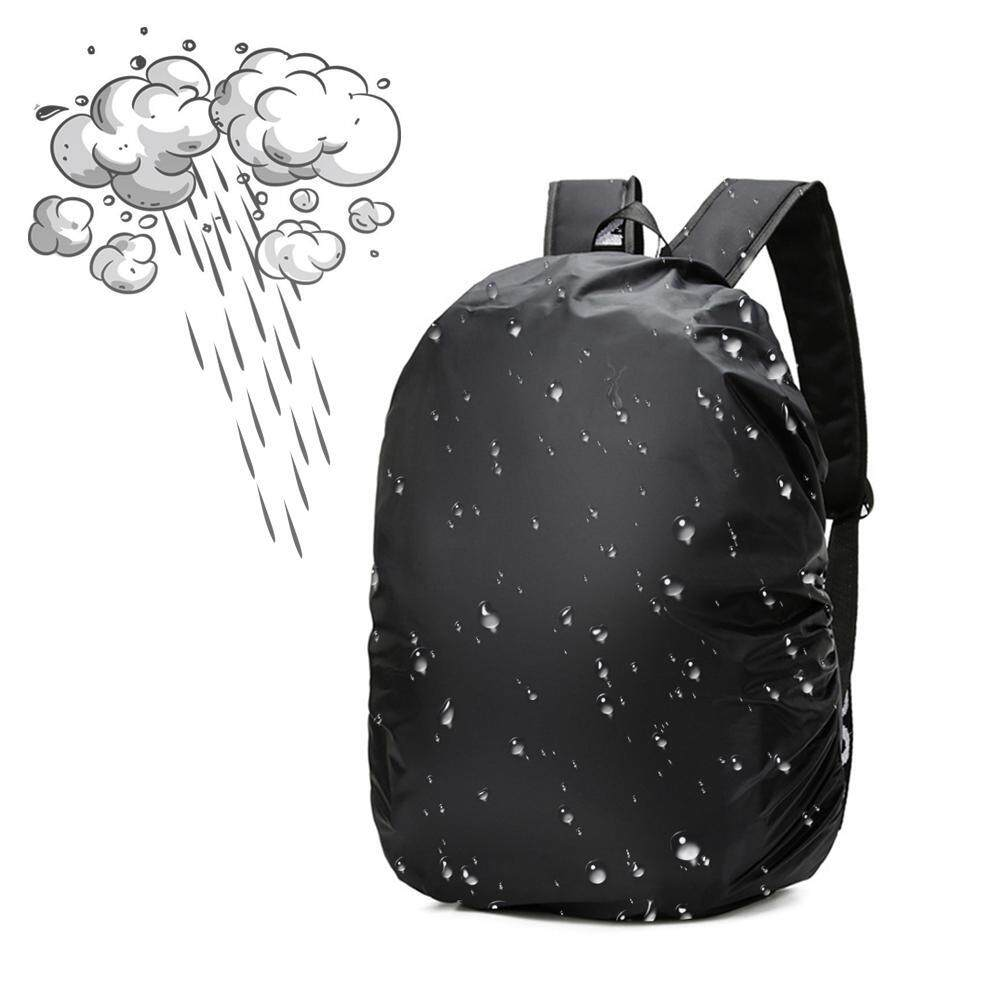 OrzBuy 35L Outdoor Mountaineering Backpack Dustproof Waterproof Rain Cover, Strong Tear Resistance, Suitable For Children's Backpack, Trolley Child Bag, 14 Inch Computer Bag, Casual Backpack, Outdoor Mountaineering Bag ผ้าคลุมกระเป๋าสะพายหลัง