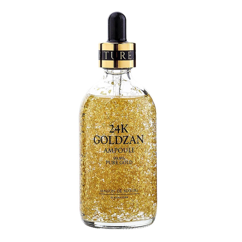 Skinature 24k Goldzan Ampoule 99.9% Gold Essence 100ml