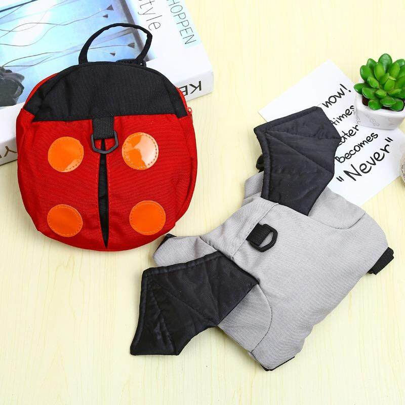 Baby Keeper Toddler Walking Safety Harness Backpack Bag Strap Rope - intl image on snachetto.com