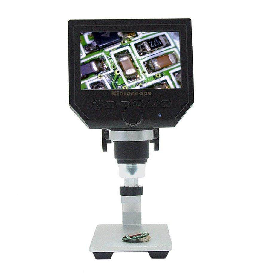 "ERA HD 3.6MP CCD 4.3"" OLED Screen Display 600X Digital Microscope with Metal Bracket"