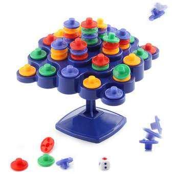 Outops Novelty BALANCE Turntable บอร์ดเกมส์แบบวางซ้อนสำหรับผู้ปกครอง - เด็กกิจกรรม Boosting เด็ก IQ ของขวัญของเล่นเด็ก-