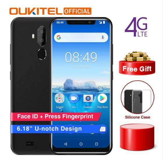 (with Face ID)Original OUKITEL C12 Pro 4G Phablet 6.18 inch Quad Core 2GB RAM 16GB ROM with 3300mAh