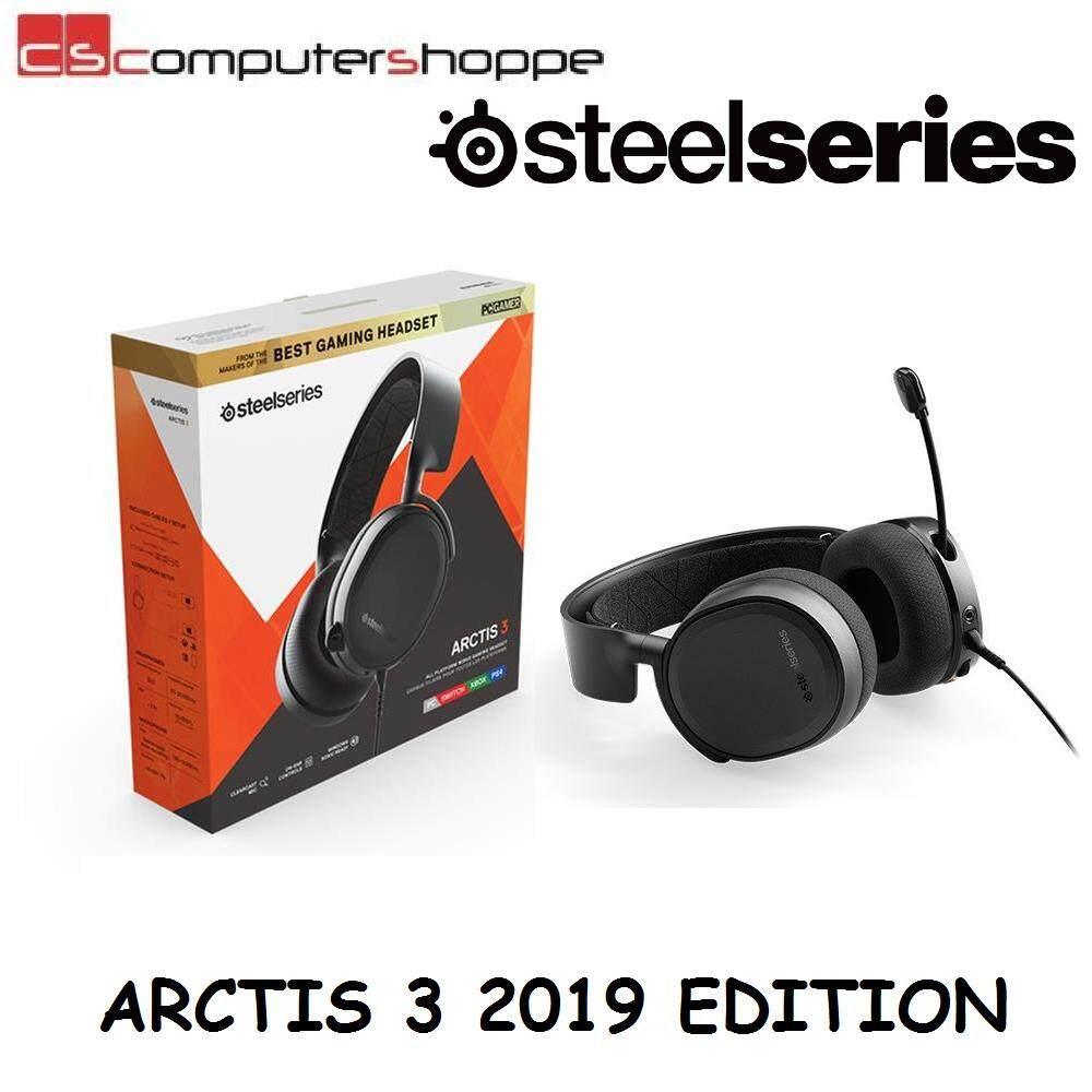 64b6dbb9ea0 SteelSeries Arctis 3 7.1 Surround Gaming Headset (Black)   Lazada