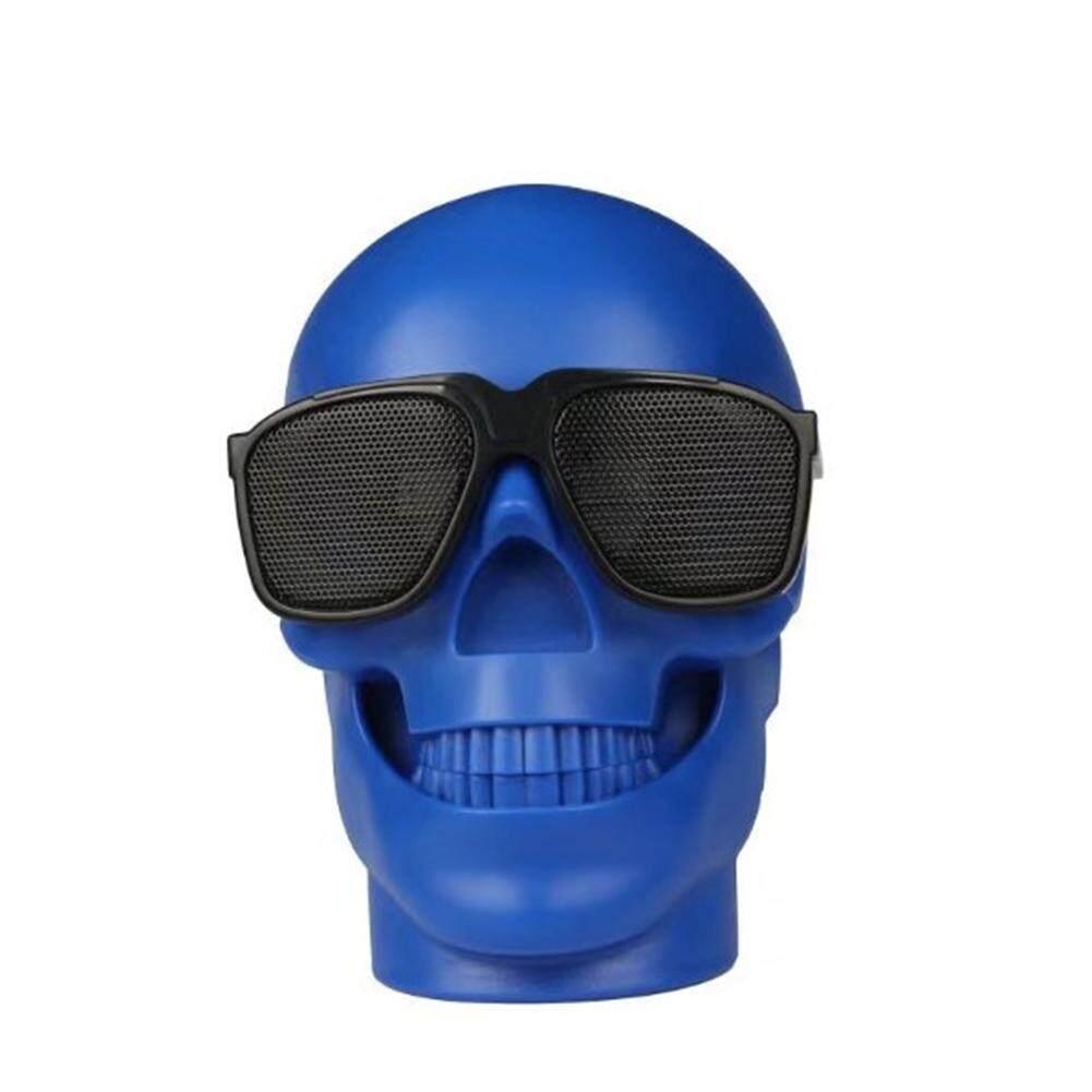 Big House Cool Skull Head Shape Portable Bluetooth Speaker For Desktop PC/Laptop Notebook/Mobile Phone/MP3/MP4 Player