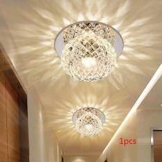 5 Wát Pha Lê Nhân Tạo LED Đèn LED Ốp Trần Mặt Dây Chuyền Đèn Chiếu Sáng Đèn Chùm