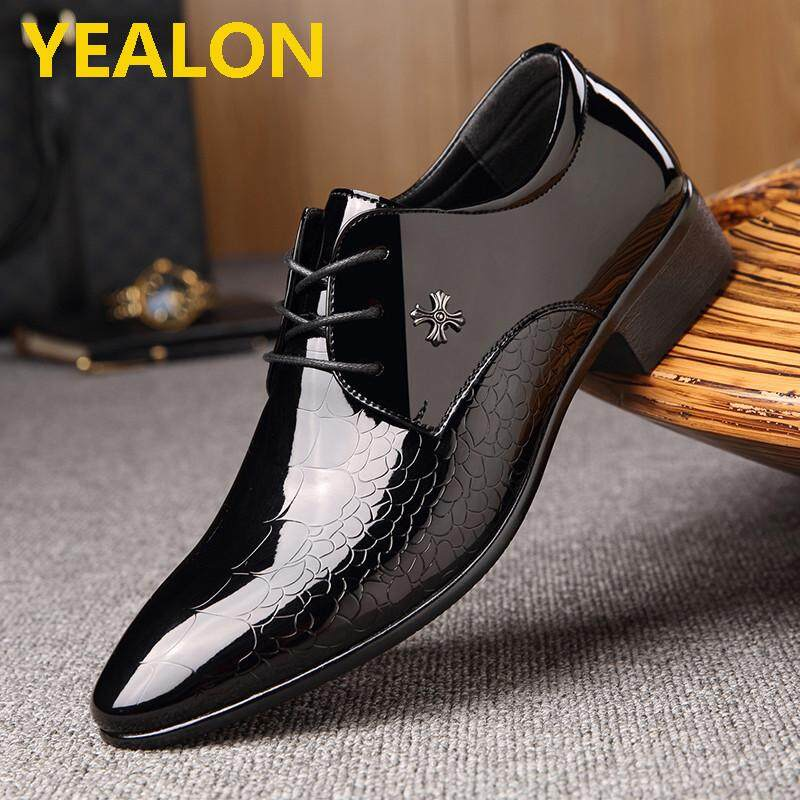 b25f9eea517986 YEALON Formal Shoes Leather Shoes For Men Leather Shoes Man Shoes Leather  Fashion Genuine Leather Men