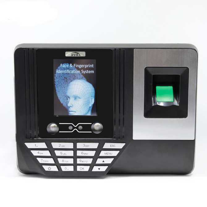 5YOA AF3 Biometric Face Facial Recognition Time Attendance System Machine Device English Version
