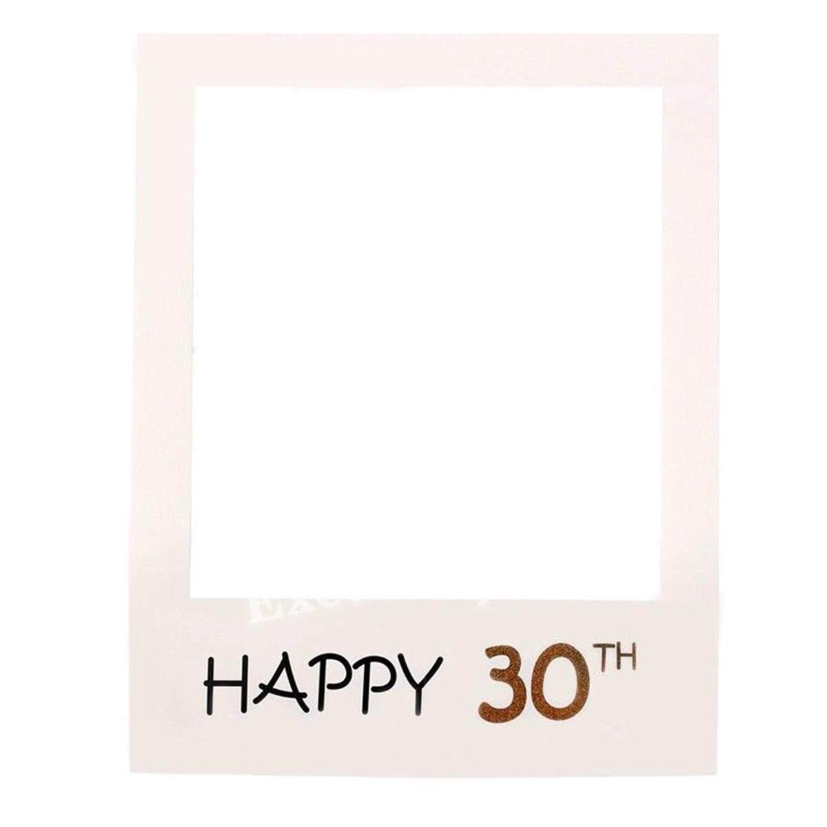 30 40 50th Chúc Mừng Sinh Nhật Cưới 2018 Cụ Hóa Trang Chụp hình Khung Trang Trí Tiệc Ảnh