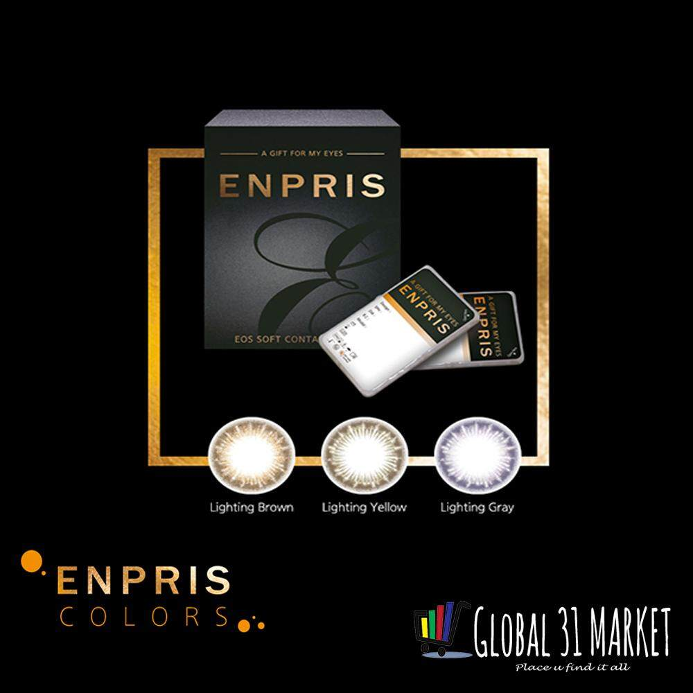 Enpris Monthly Disposable Color Contact Lens , 14.5mm , Made in Korea , Igel