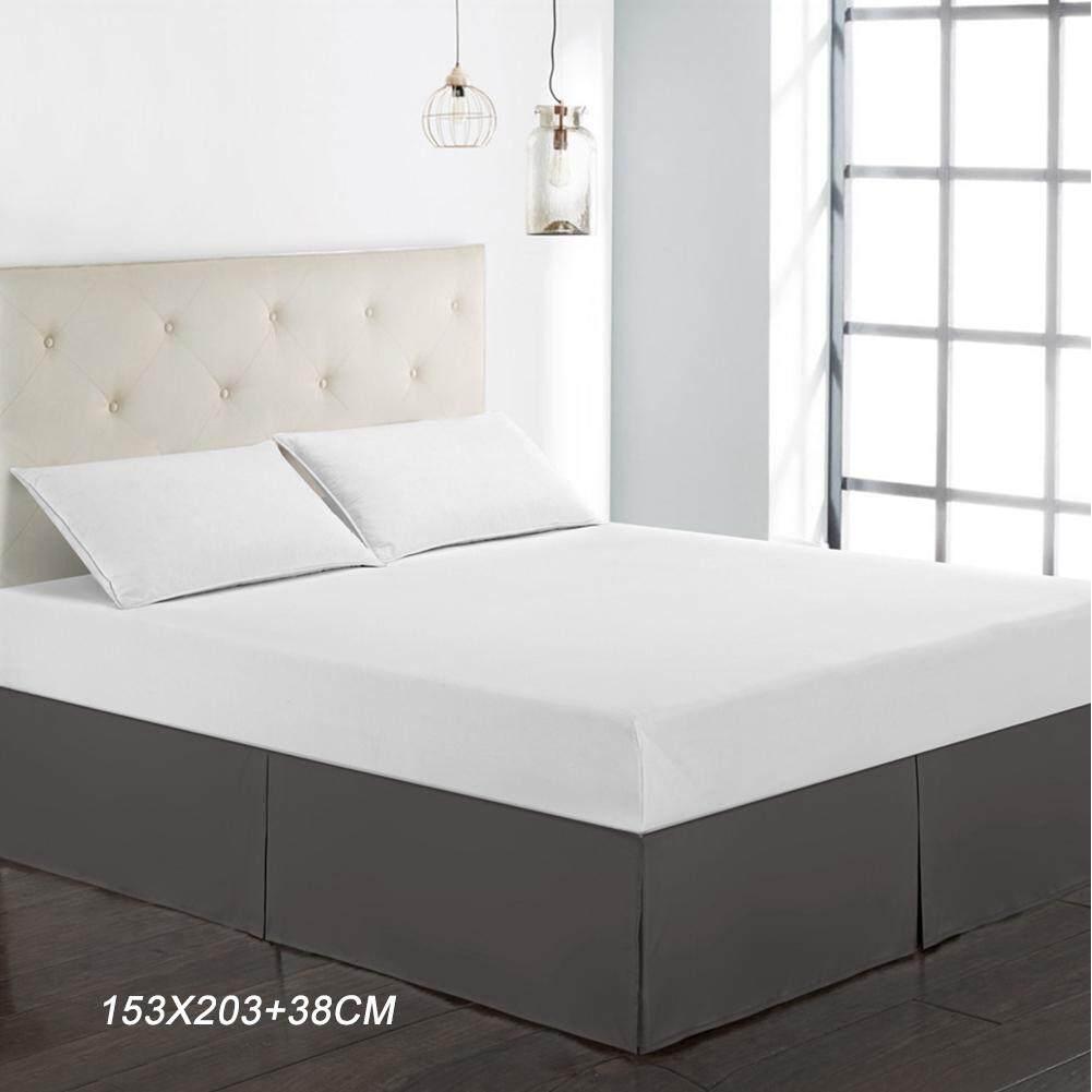 Giường Váy Bụi Xù Sợi Polyester Bộ Giường Ngủ Chống Bụi Độc Đáo Thiết Kế Nhà Cung Cấp