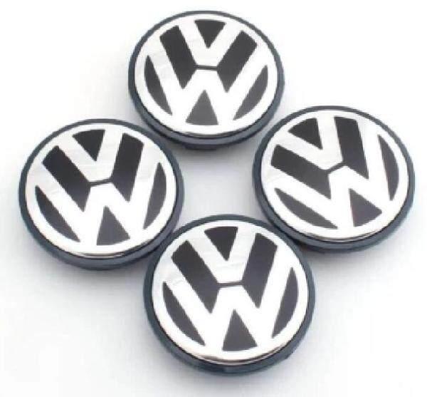 4 Cái/lốc 65Mm Biểu Tượng Trung Tâm Bánh Xe Cap Sticker Nắp Trục Bánh Xe Trung Tâm Cho Volkswagen Vw Touran Bora Caddy , Boost Polo Golf 3 4 5 6 7 Passat B5 B6