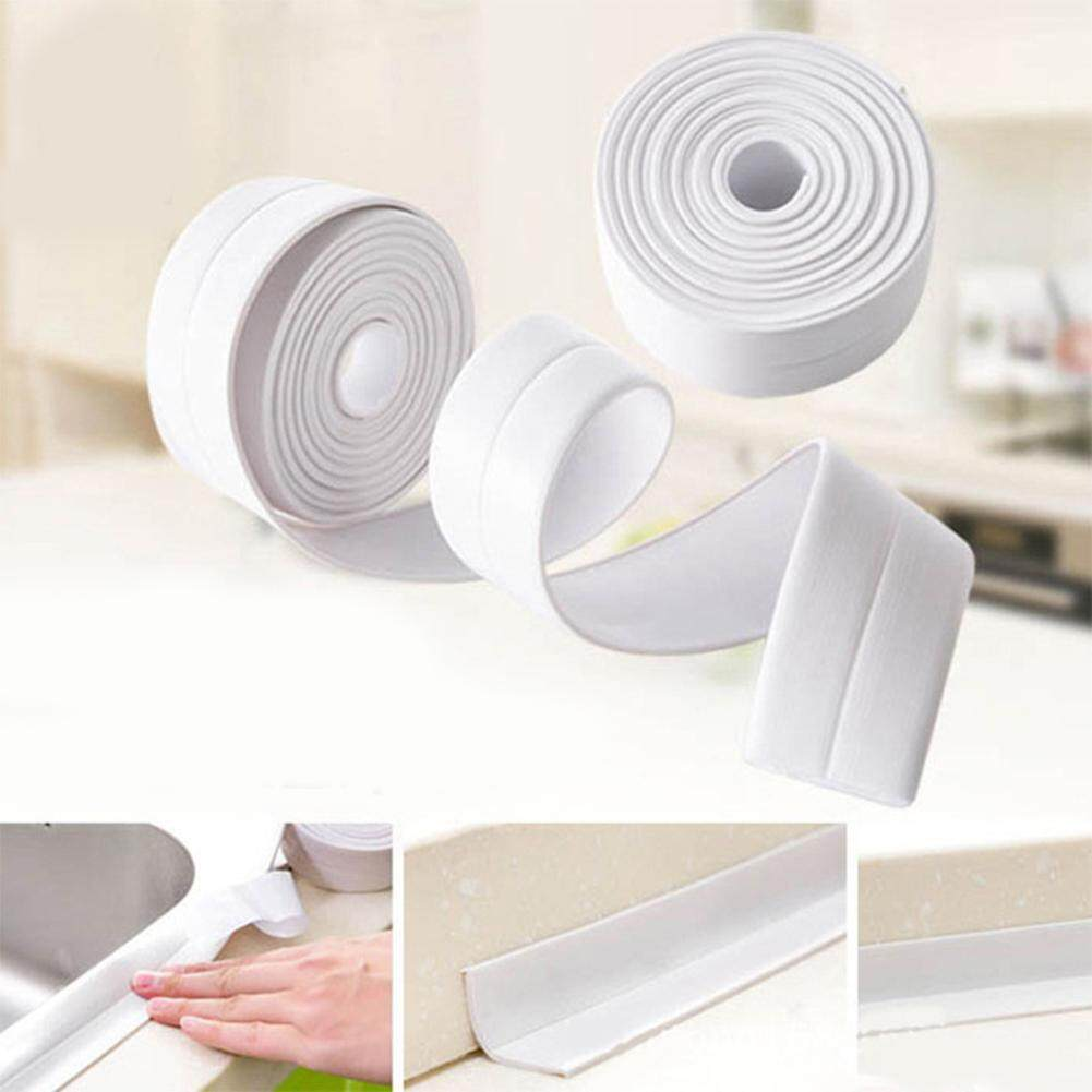 Yunmiao 3.8cm * 320cm Waterproof Bathroom PVC Sealing Tap Kitchen Sealing Sticker Home Decoration