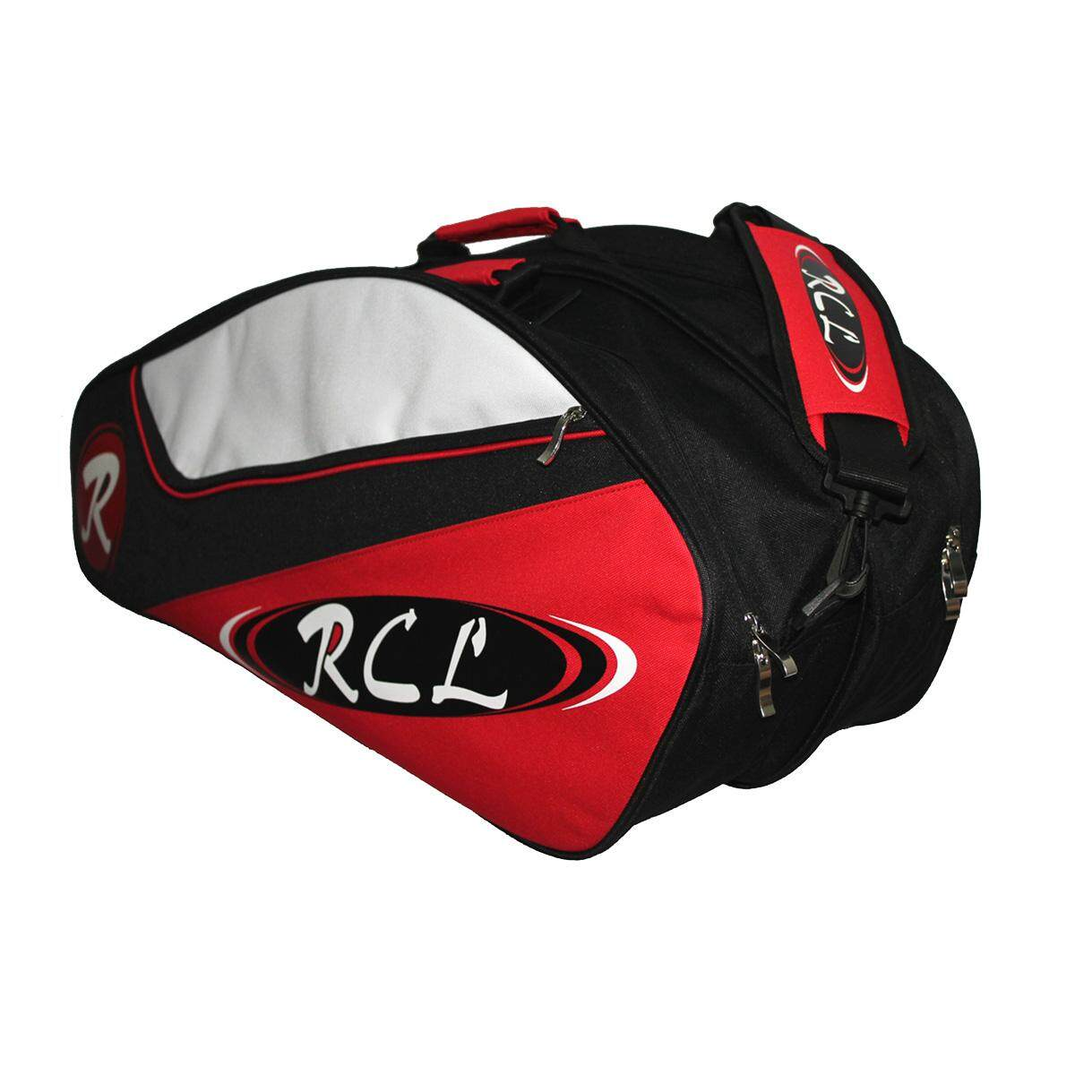 RCL BB97 Bag (Thick & Durable) for 20 Badminton Rackets (Red)