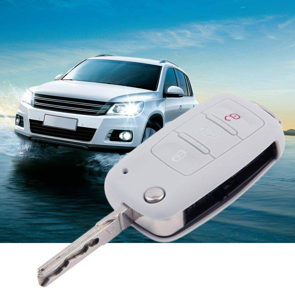 ERA Car Remote Key Silicone Cover Case for Volkswagen VW Series Grey