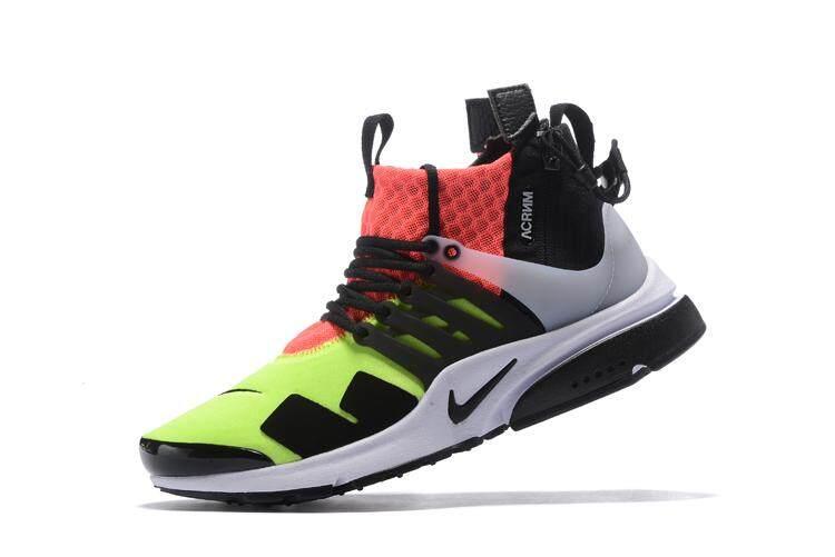 Nike Men s NikeLab Air Presto Mid X Acronym Running Shoe Fashion Casual  Sneaker (Green  af302d18dd
