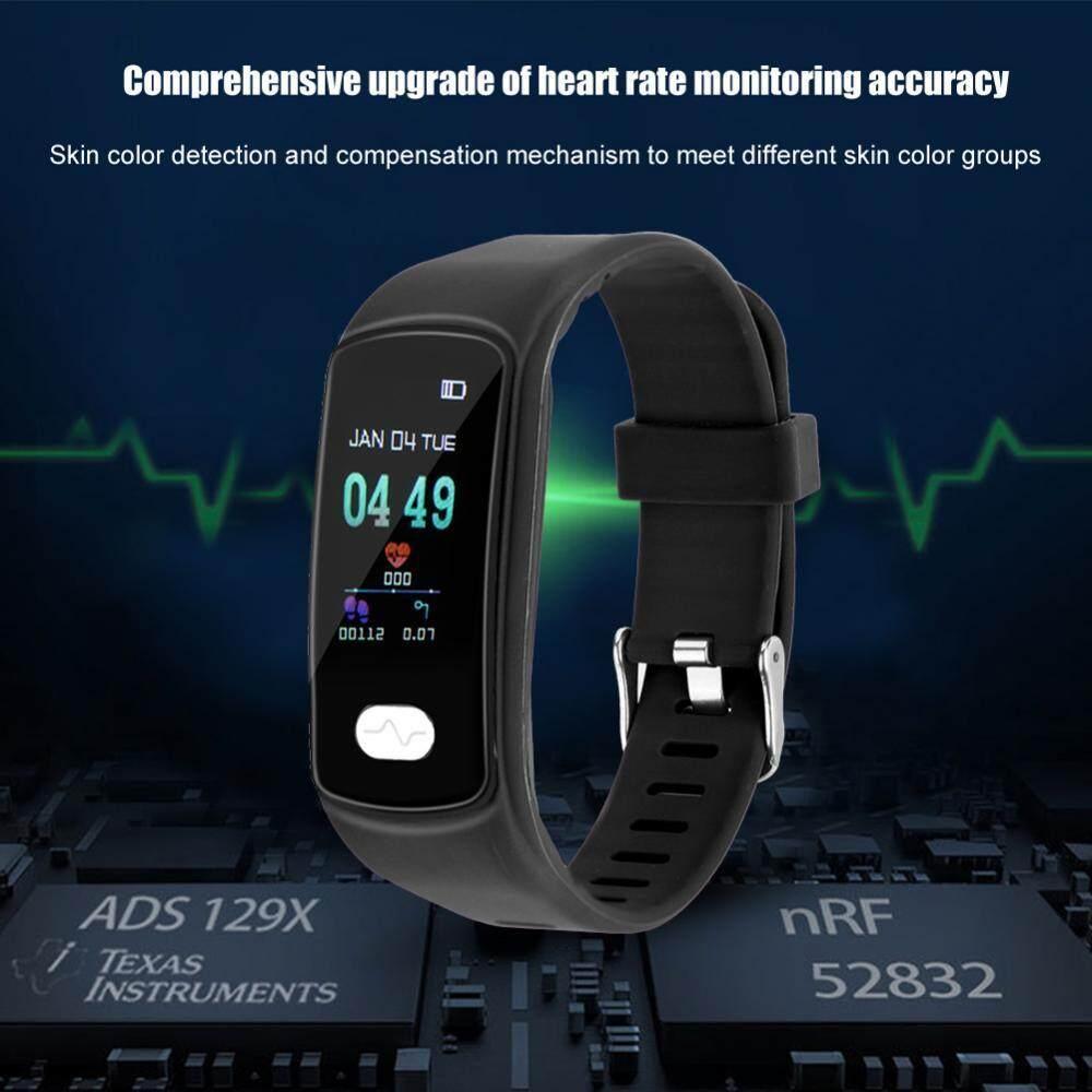 duoqiao [Clearance Sale] E07 ECG + PPG Heart Rate Color Screen Sports Smart  Bracelet Smart Bracelet Wristband Watch(Purple)