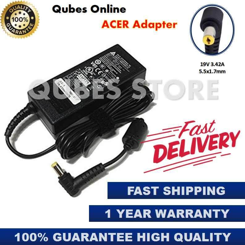 Acer Laptop/Notebook Adapter Charger (3.42A 5.5x1.7mm)65W Acer Aspire 5760Z-B954G50Mnsk