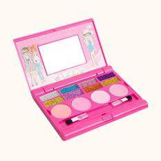 Princess Makeup Set For Kids Cosmetic Girls Kit Eyeshadow Lip Gloss Blushes New