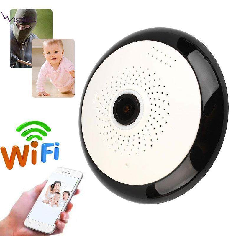 Wishmall Panoramic Camera WIFI IP Camera Cam Webcam 960P HD Support SD Card