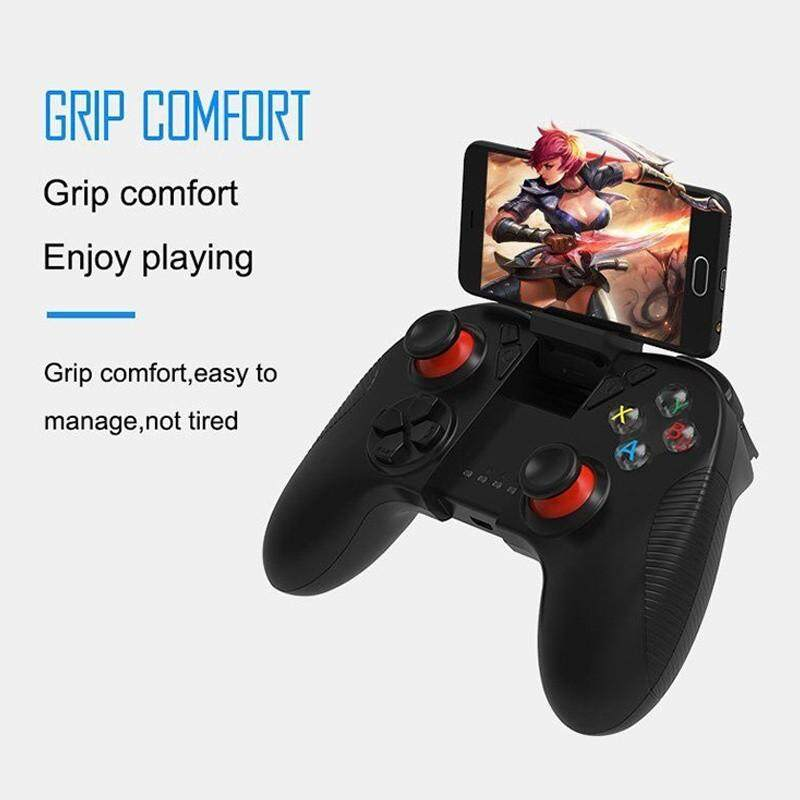LHHLP SC-B04  Portable Bluetooth Wireless Game Controller Gamepad Joystick for iOS Android Cellphone