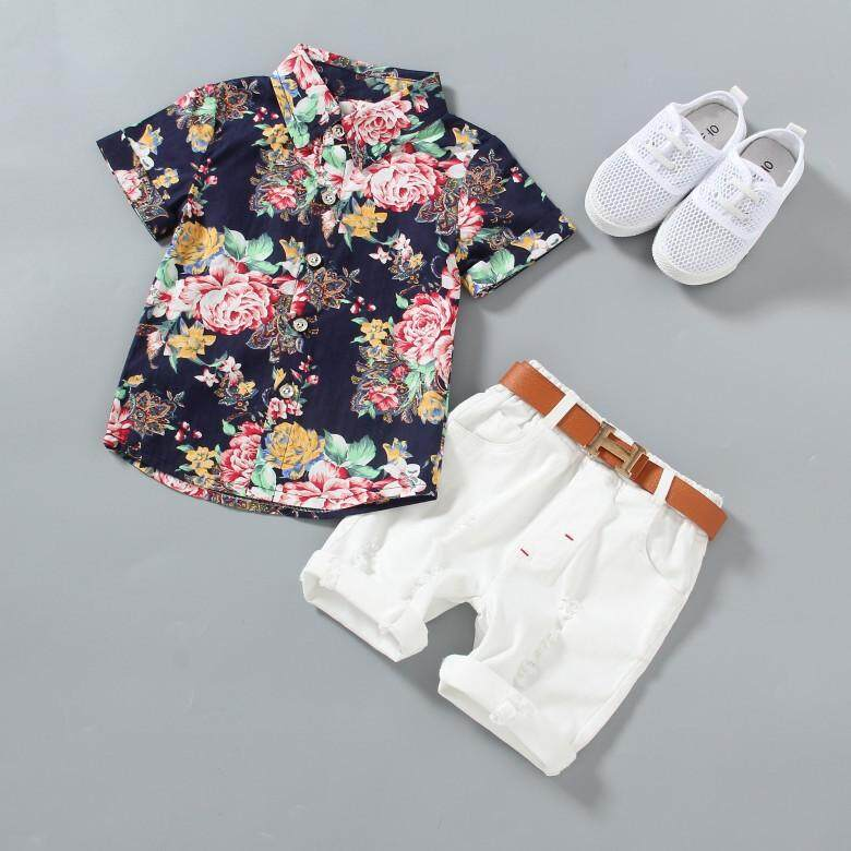 Kids Baby Boys Girls Summer Daily Beach Solid Fashion Short Pants Clothes Outfit