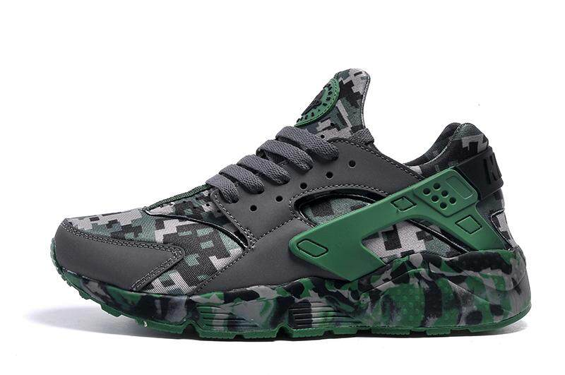 ecdda91b4c72d NIKE AIR HUARACHE Men s Fashion Casual Sneakers Running Sport Shoes  (Camouflage )