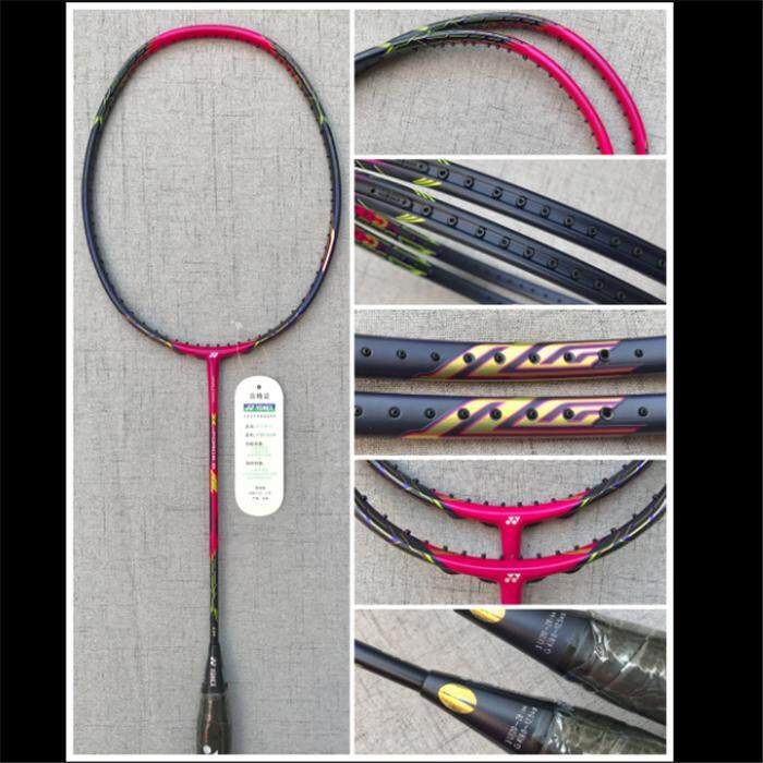 YONEX VTZF-LCW 4U Full Carbon Single Badminton Racket with Even Nails 26-30Lbs Suitable for Professional Player Training Buy 1Get 3 Gifts[1*Free Grip 1*Free String 1*Free Bag](JP Version)