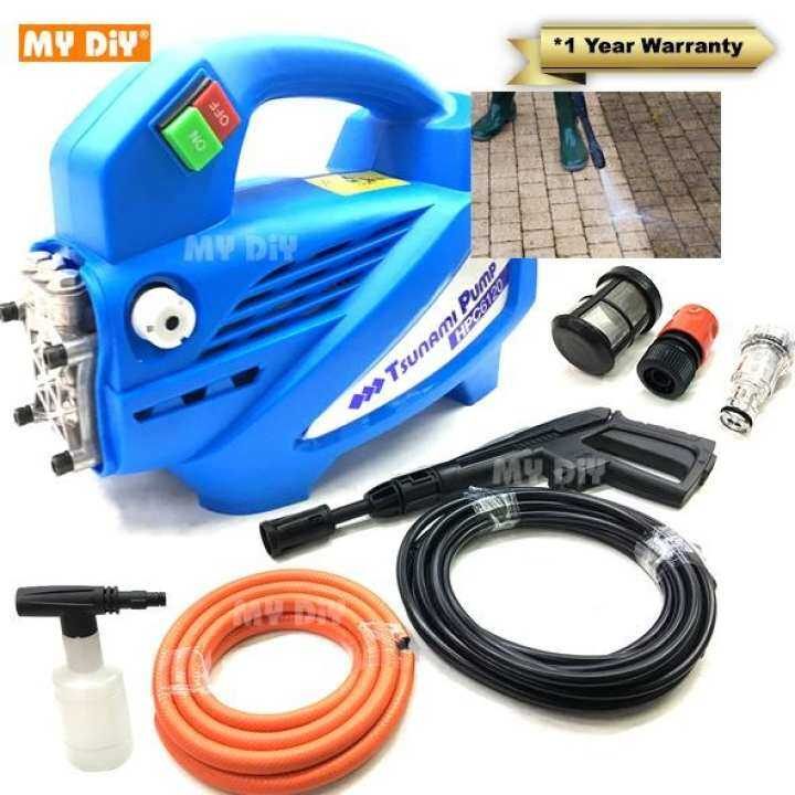 Review My Diy Tsunami Water Jet Cleaner Pump Hpc6120 High