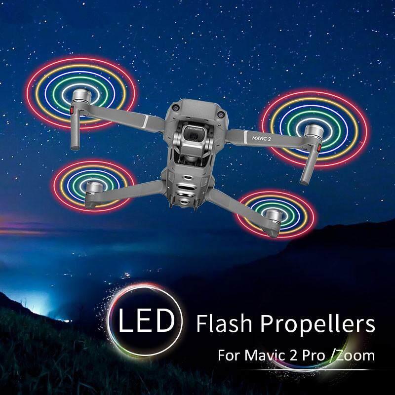STARTRC DJI Mavic 2 Pro Flash LED Propellers Low Noise Quick-Release  Propellers for DJI Mavic 2 Pro/Zoom Dron USB Charger Items per
