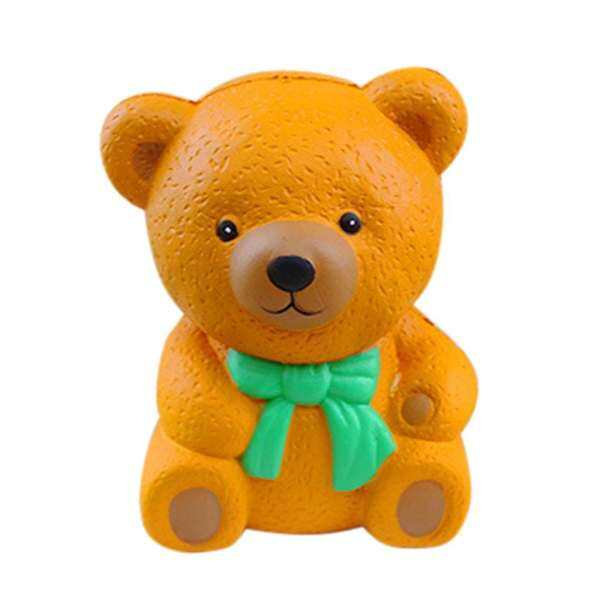Erpstore Bear Finger Doll Squishy Slow Rising Cream Scented Decompression Toys