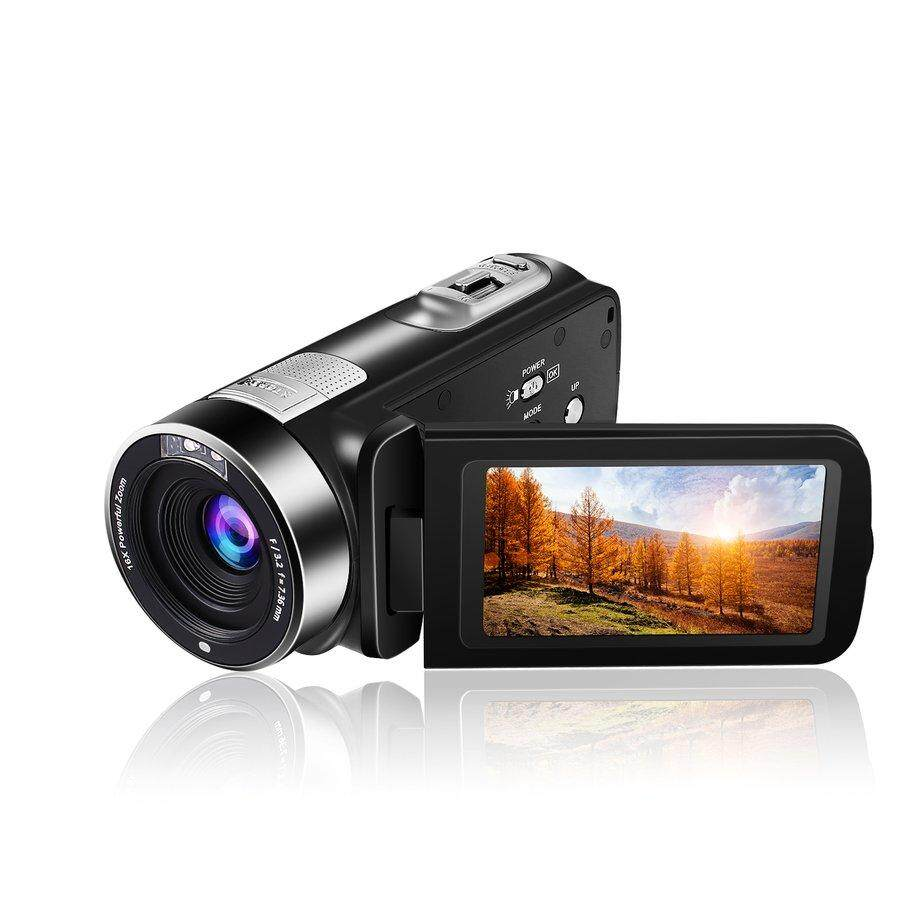 E-ERA 3.0 inch TFT Flash 24 MP FHD LCD Rotation Screen Digital Camera With 16X Zoom