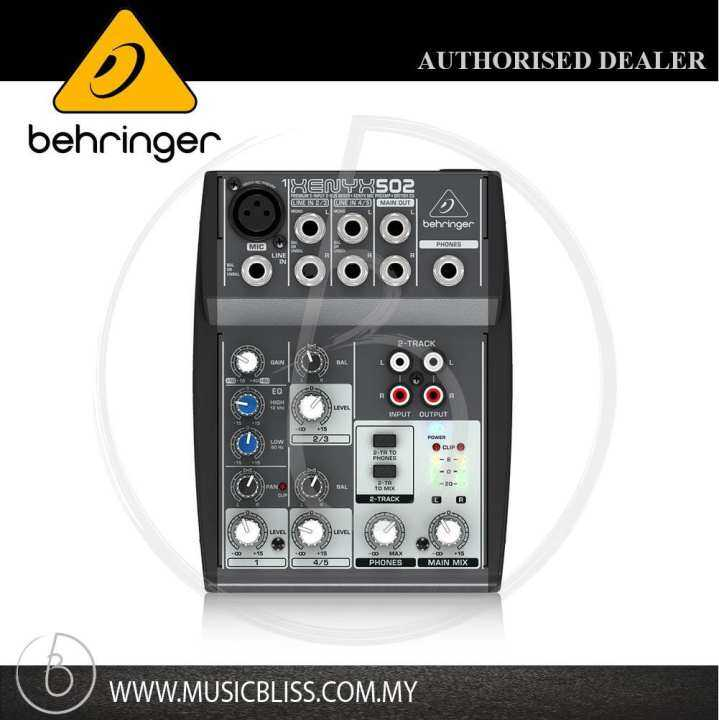 behringer xenyx 502 analog mixer xenyx 502 lazada. Black Bedroom Furniture Sets. Home Design Ideas