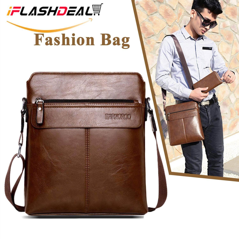 34298cd458f2 iFlashDeal Sling Bag Men Messenger Bags PU Leather Crossbody Shoulder Pouch  Bags Business Bags Men Fashion | Lazada Singapore