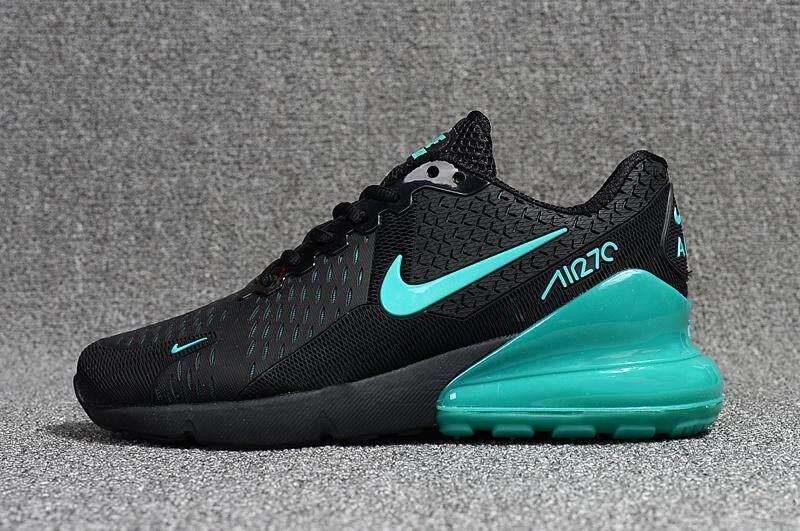 5539c1d05b Nike Air Max Flair 270 Men's Running Shoe Fashion Sport Sneakers (Black /Blue)
