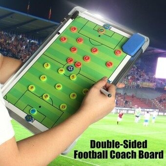 Precision Magnetic Pro Double-Sided Football Training Strategy Board 45x29.3cm