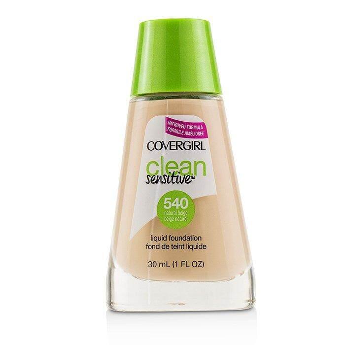 Covergirl Clean Sensitive Liquid Foundation - # 540 Natural Beige 30ml/1oz