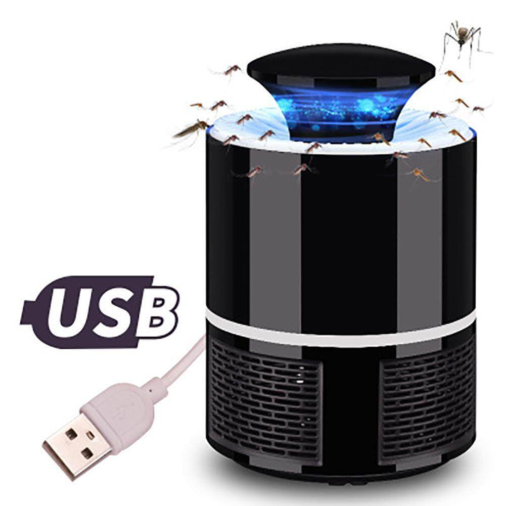 OutFlety Electronic Mosquito Repellent Trap Lamp USB LED Indoor For Camping Travel Home Garden image on snachetto.com