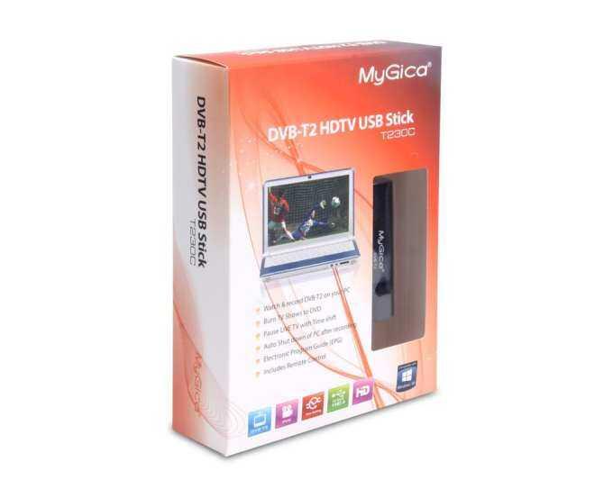 Mini เครื่องรับสัญญาณทีวี Usb Dvb-T2/t/c ดิจิตอลทีวี Stick Tuner เครื่องบันทึกวีดีโอสำหรับแล็ปท็อป Pc + เสาอากาศ By The Lvbird Shop.