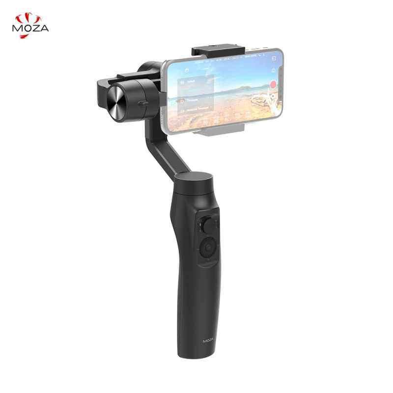 Finemall Moza Mini-Mi 3-Axis Stabilizer Gimbal Smartphone WIRE-Telepon Kurang Pengisian Beberapa Mata Pelajaran Deteksi 360 ° Rotasi awal Mode Menakjubkan Motion Timelapse untuk iPhone X 8 7 Plus 6 Plus Samsung Galaxy