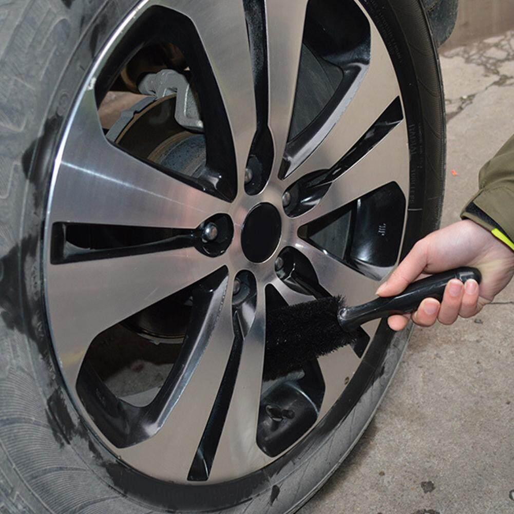 Car Truck Motorcycle Bike Wheel Tire Rim Scrub Brush Washing Tool Hot High Density Good Elasticity Black Brush Rearview Mirror Cover