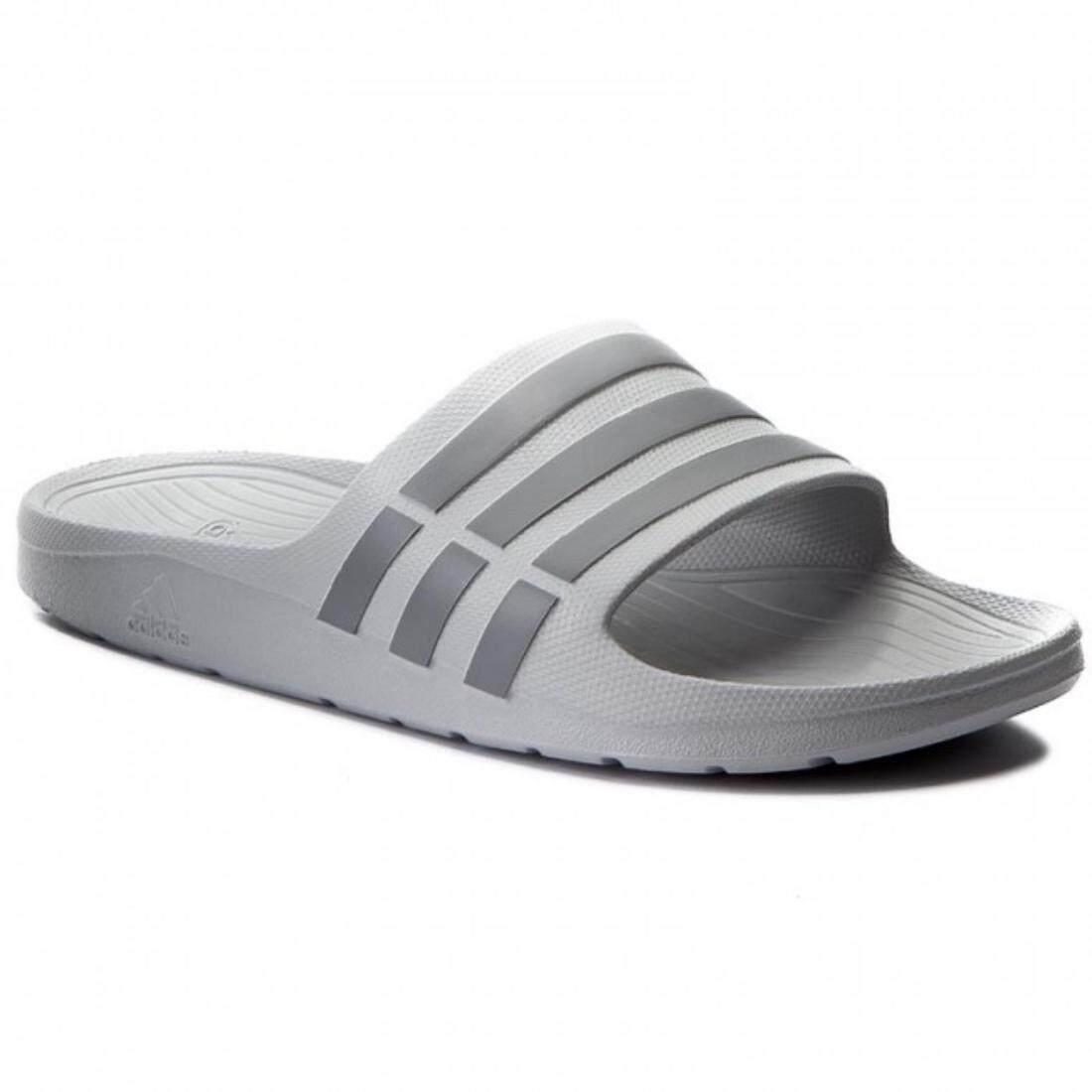 ed12c7bddca7 100% Original Adidas Adilette Duramo Slide Bath Shoes Flip Flops for Men