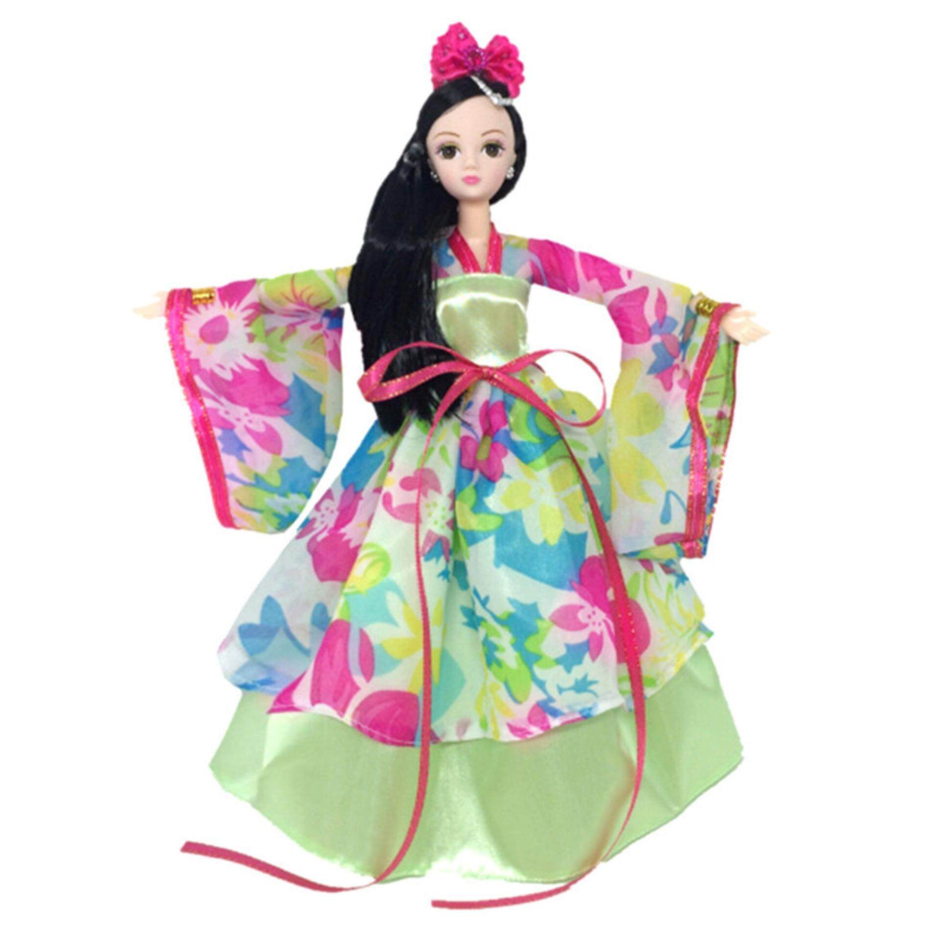 Traditional Chinese Ancient Beauty Fairy Costume Clothes Dress For Barbie Dolls