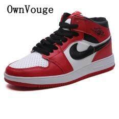 OwnVouge Plus Size 35-46 47 Nam Jordan Bóng Rổ Thoải Mái Thoáng Mát Thể Thao Thể Thao Nam Không Giày Đi Bộ giày Sneakers AJ1